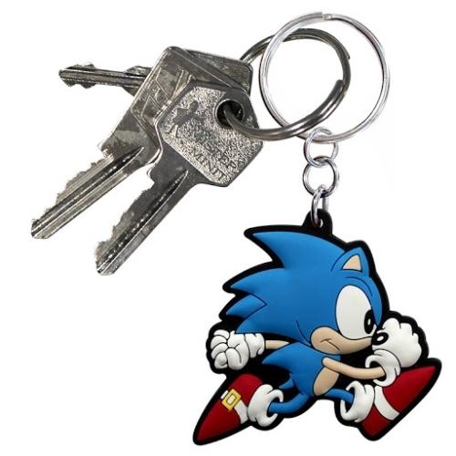 Sonic the Hedgehog Run PVC kulcstartó