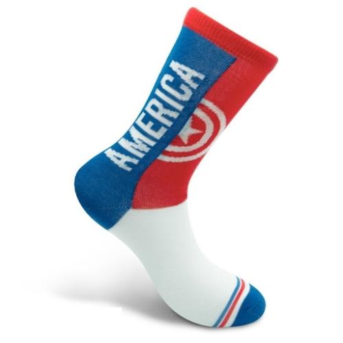 Marvel Comics Captain America Amerika Kapitány zokni