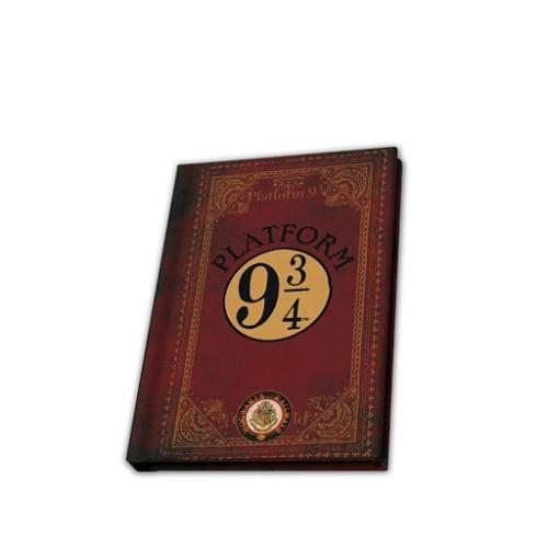 Harry Potter 9 és 3/4 vágány zsebnotesz jegyzetfüzet A6