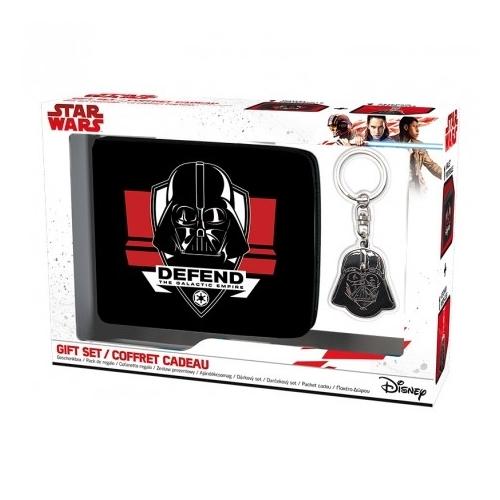 Star Wars Csillagok Háborúja Darth Vader ajándékcsomag kulcstartó + pénztárca