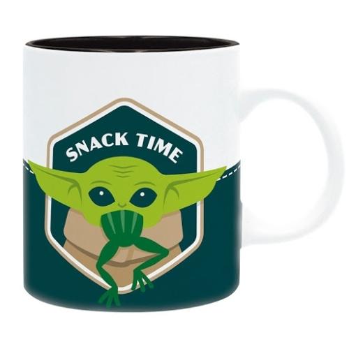 Star Wars The Mandalorian Baby Yoda Grogu snack time bögre 320 ml