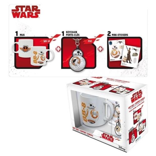 Star Wars Darth Vader kulcstartó+kávés bögre+pohár ajándék szett