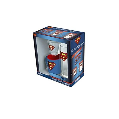 DC Comics Superman pohárkészlet ajándékcsomag
