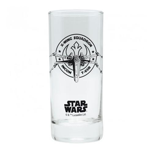 Star Wars Csillagok Háborúja X-wing üvegpohár 290 ml