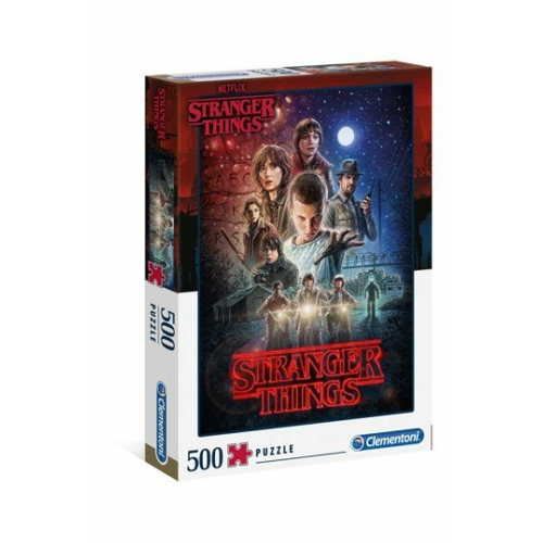 Stranger Things 500 db-os puzzle