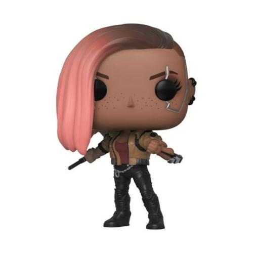 POP! Games Cyberpunk 2077 POP! Games V-Female POP figura 9 cm