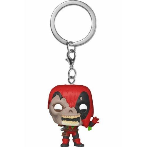 MARVEL Pocket Funko POP! Zombie Deadpool kulcstartó POP figura