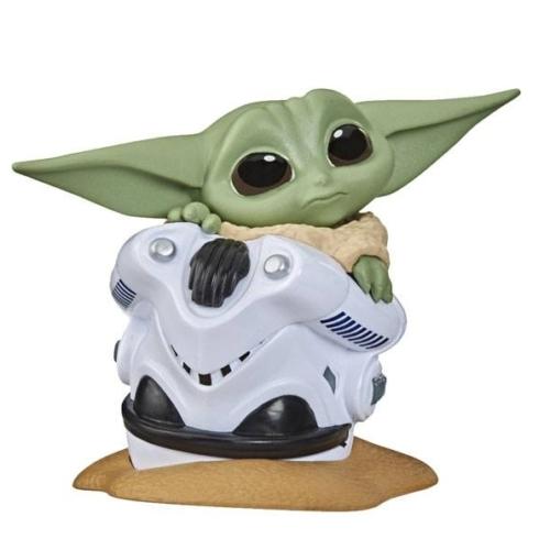 Star Wars Mandalorian Bounty Collection Figure The Child Helmet higing Baby Yoda figura