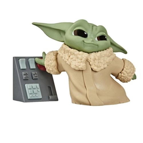 Star Wars Mandalorian Bounty Collection Figure The Child Touching Buttons Baby Yoda figura