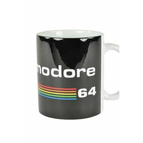 Commodore 64  Black Logo bögre 300 ml
