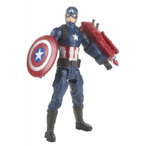 Marvel Avengers Endgame Titan Hero Series Akció figura Amerika Kapitány 30 cm