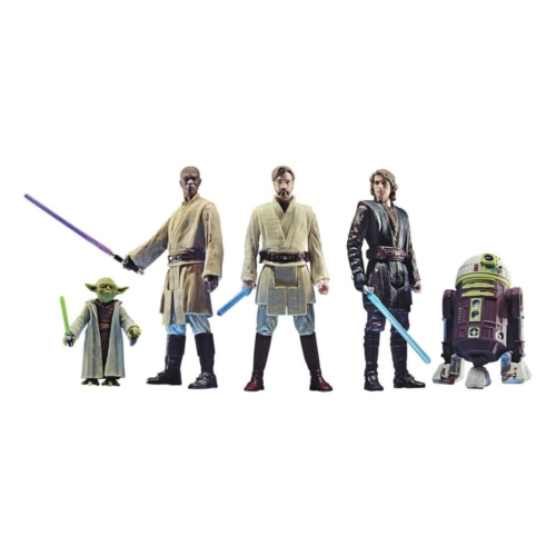 Star Wars Celebrate the Saga Action Figures 5-Pack The Jedi Order mozgatható figura szett 10 cm
