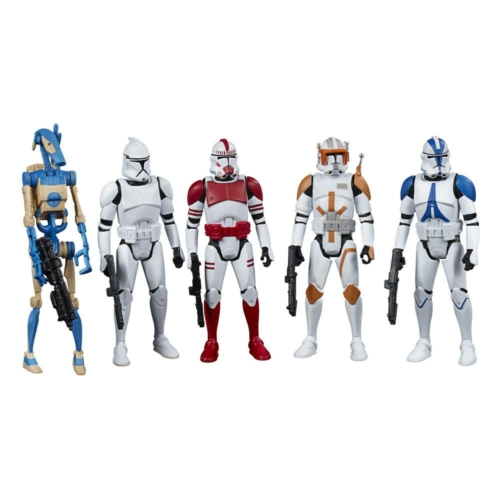 Star Wars Celebrate the Saga Action Figures 5-Pack Galactic Republic mozgatható figura szett 10 cm