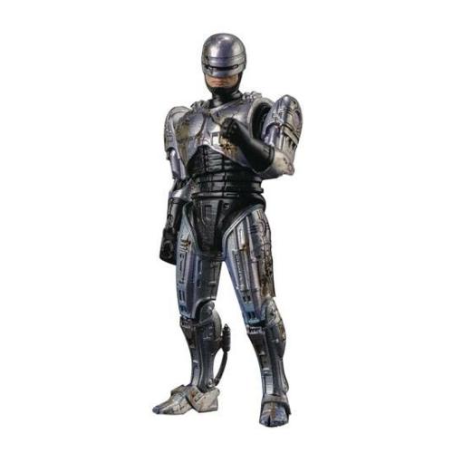 Robocop akció figura 1/18 méretarányos Battle Damage Robocop Previews Exclusive 11 cm