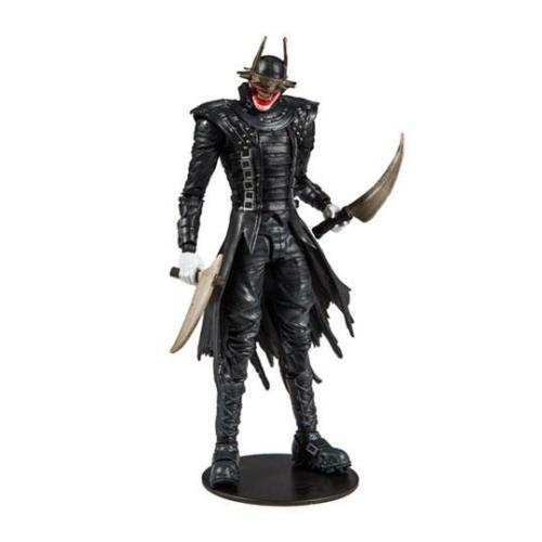 DC Dark Nights: Metal Build A The Batman Who Laughs Joker mozgatható akció figura 18 cm