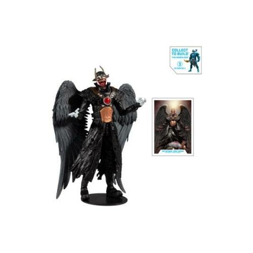 DC Multiverse Build A Batman Who Laughs (Hawkman #18 (2019) akció figura 18 cm