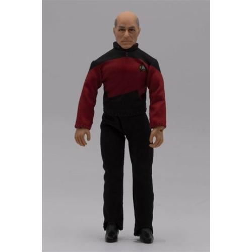 Star Trek TOS Captain Picard szövetruhás akció figura 20 cm