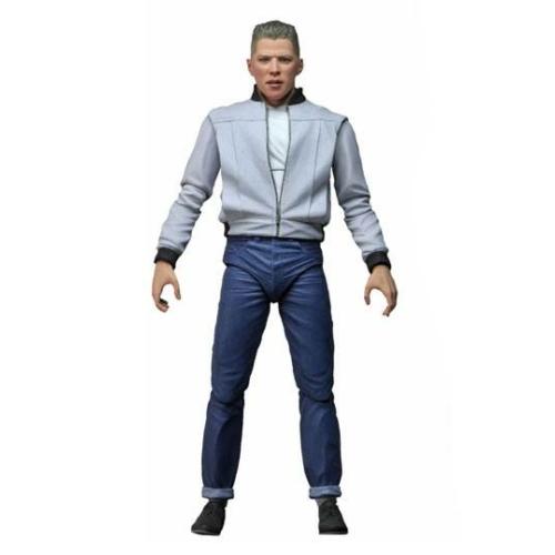 Back to the Future Vissza a Jövőbe Ultimate Biff Tannen mozgatható akció figura 18 cm