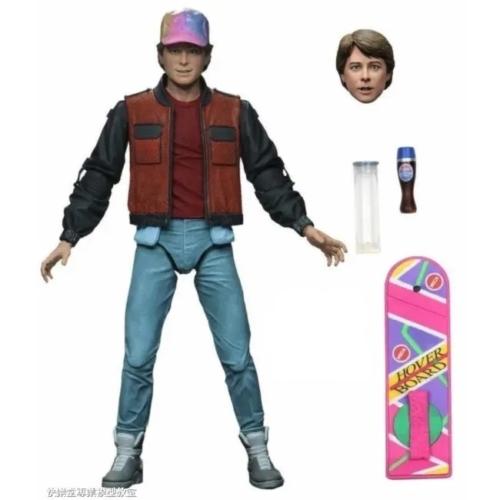 BACK TO THE FUTURE Part II Vissza a Jövőbe II Ultimate Marty McFly mozgatható akció figura 18 cm