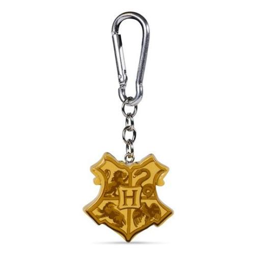 HARRY POTTER 3D Roxfort Hogwarts Crest kulcstartó
