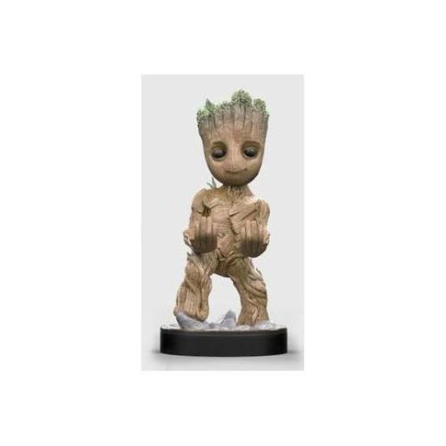 Marvel Groot kontroller tartó figura 20 cm (2 m-es miniUSB kábellel és világító adapterrel)