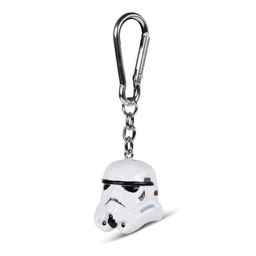 Star Wars Stormtrooper Rohamosztagos 3D kulcstartó  4 cm