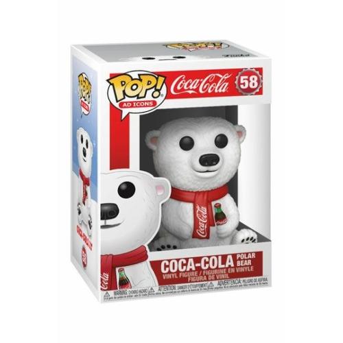 ELŐRENDELÉS Coca-Cola POP! Ad Icons Coca-Cola Polar Bear figura 9 cm