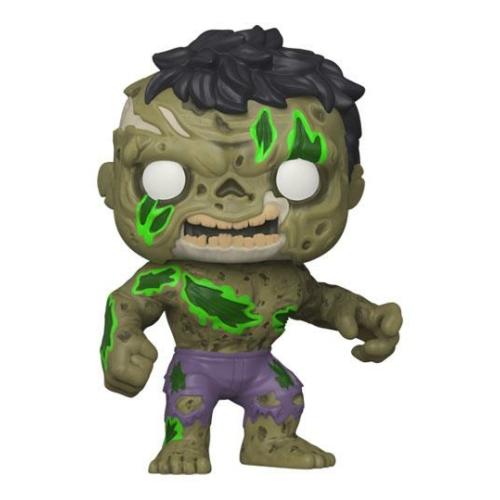 ELŐRENDELÉS - Marvel POP! Figura Zombie Hulk 9 cm