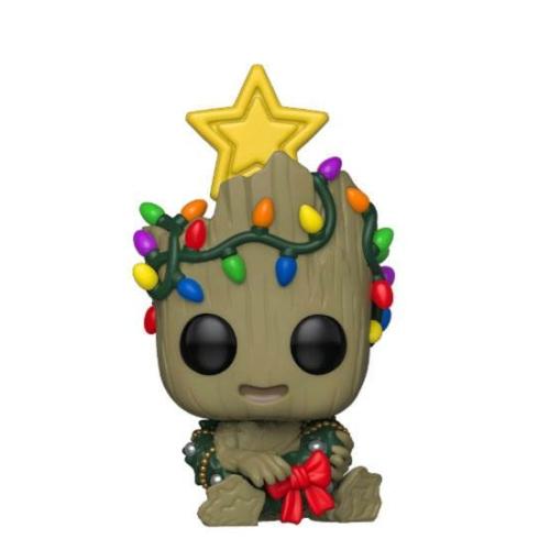 ELŐRENDELÉS - Marvel Holiday POP! Marvel Figura Groot 9 cm