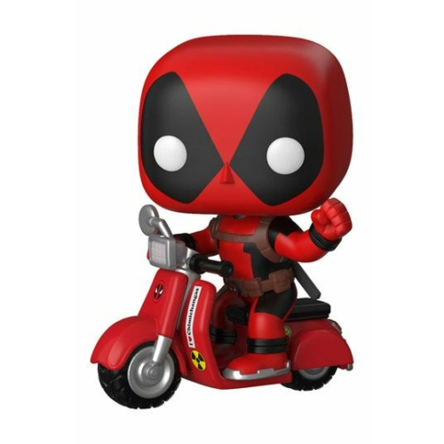 ELŐRENDELÉS - Deadpool POP! Rides Figura Deadpool & Scooter 9 cm
