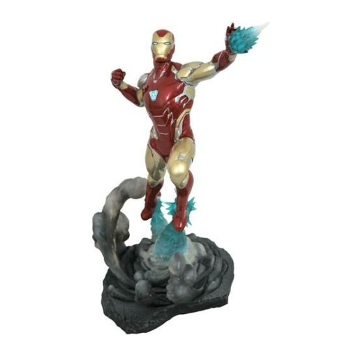 ELŐRENDELÉS - Avengers: Endgame Marvel Movie Gallery PVC Diorama Iron Man MK85 Szobor 23 cm