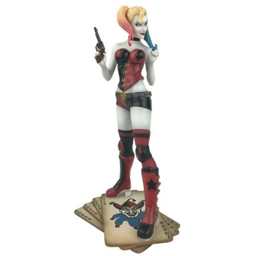 ELŐRENDELÉS - DC Comic Gallery PVC Diorama Harley Quinn Szobor 23 cm