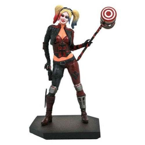 ELŐRENDELÉS - Injustice 2 DC Video Game Gallery PVC Szobor Harley Quinn 23 cm