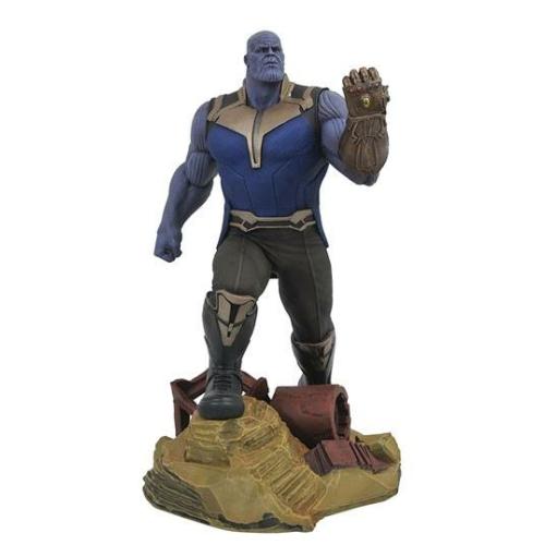 ELŐRENDELÉS - Avengers Infinity War Marvel Gallery PVC Szobor Thanos 23 cm