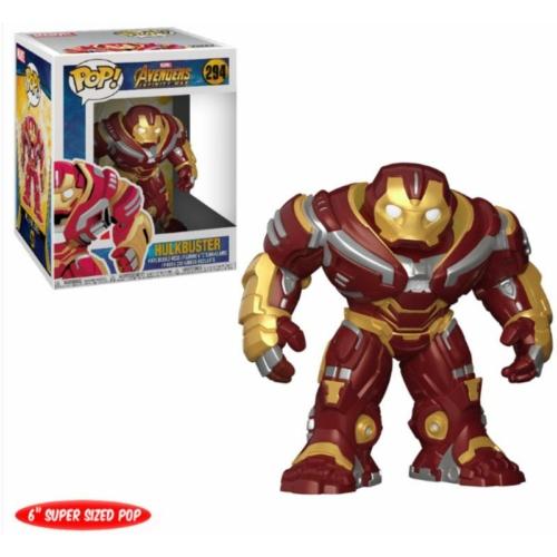 Avengers Infinity War Super Sized Funko POP! Hulkbuster figura 15 cm