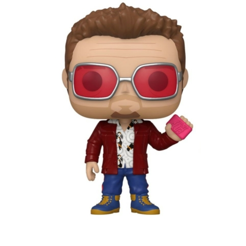 poP! Fight Club POP! Harcosok klubja Tyler Durden (Brad Pitt) szemüvegben figura 9 cm