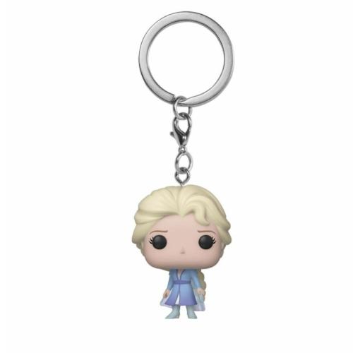 POP! Frozen 2 POP! Disney Jégvarázs 2 Elsa kulcstartó figura 4 cm