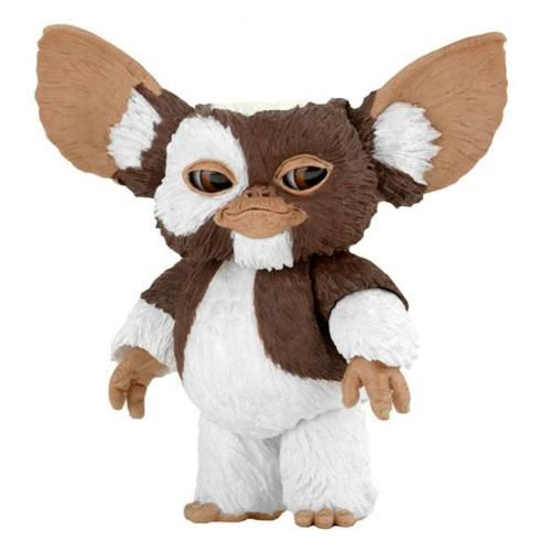 GREMLINS Szörnyecskék Ultimate mozgatható fülekkel,szemekkel,4db cserélhető arcokkal,mikulás sapka,trombita stb, gyűjtői Gizmo figura 12 cm