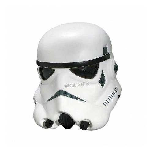 Star Wars Collector Helmet Stormtrooper Rubies gyártmányú gyűjtői kiadású rohamosztagos filmes replika felnőtt méretű sisak