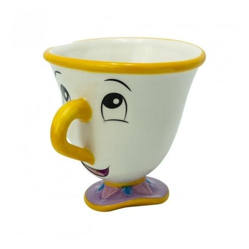 """Disney A szépség és a szörnyteg Chip """"Csészike"""" 3 D kerámia bögre 250 ml"""