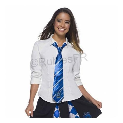 Harry Potter Ravenclaw Hollóhát ház kiváló minőségű szatén nyakkendő