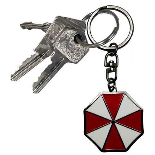 """Resident Evil """"Umbrella"""" fém kulcstartó"""