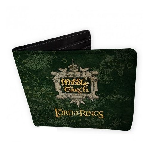 A Gyűrük Ura The Lord of the Rings Középfölde vinyl pénztárca