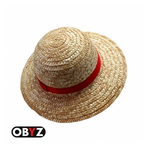 One Piece Luffy Straw hat szalma kalap 32 cm x 10 cm