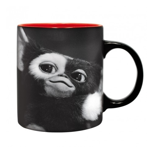 Gremlins Szörnyecskék Gizmo Black & White bögre 320 ml