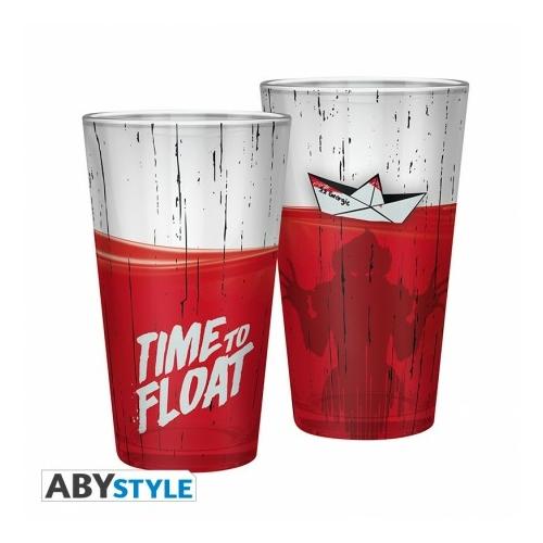 IT Time to Float Pennywise díszítésű üvegpohár 400 ml