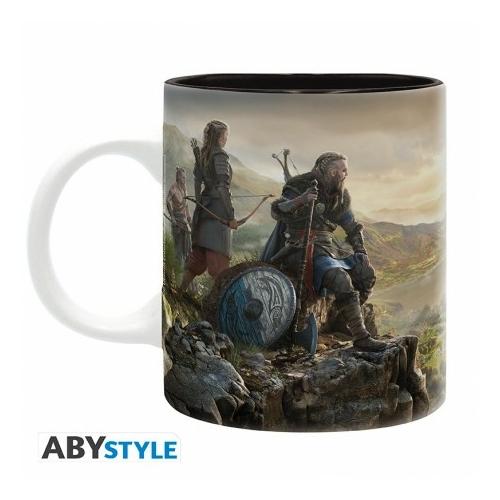 Assassin's Creed landscape Valhalla bögre 320 ml