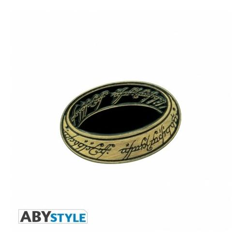 A Gyűrük Ura The Lord of the Rings A Gyűrű fém kitűző