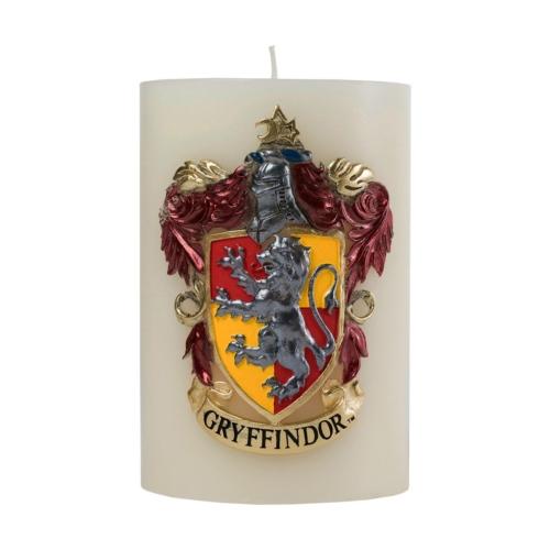 Harry Potter XL Gryffindor Gryffendale díszítésű exkluzív díszgyertya 15 x 10 cm