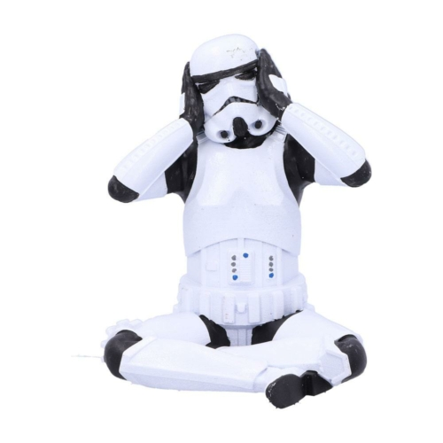 Star Wars Original Stormtrooper Hear No Evil Stormtrooper műgyanta figura 10 cm